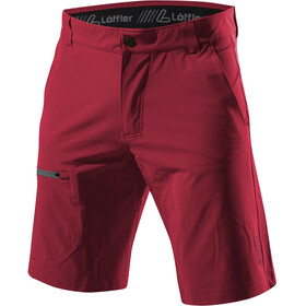 Löffler Comfort Stretch Light Trekking Shorts Herren maroon
